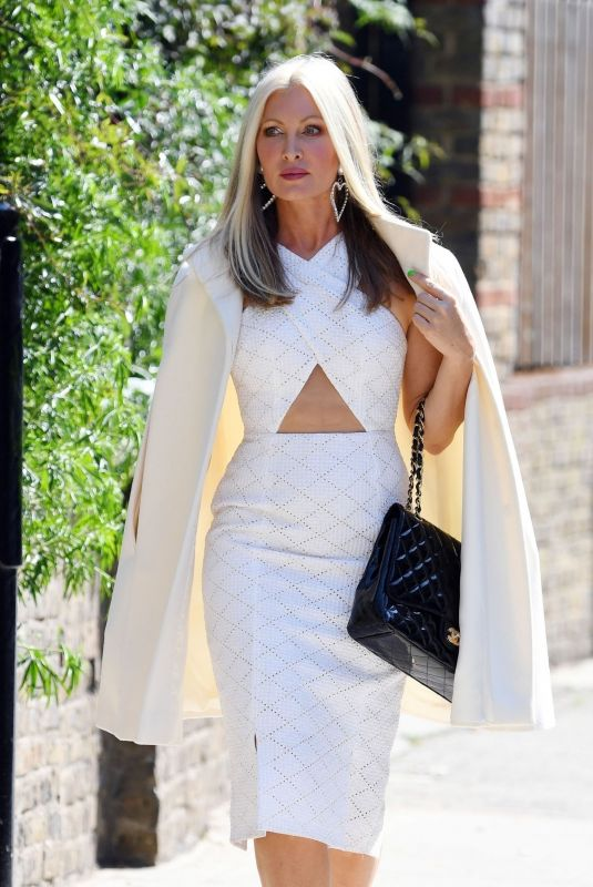 CAPRICE BOURRET Heading to a Meeting in London 11/27/2020