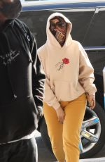 CARDI B at LAX Airport in Los Angeles 11/24/2020