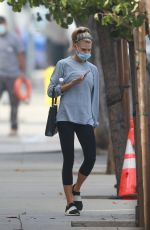 CHARLOTTE MCKINNEY Out and About in Los Angeles 11/03/2020