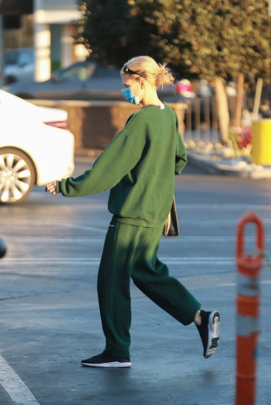 CHARLOTTE MCKINNEY Out Shopping in Santa Monica 11/24/2020