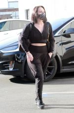 CHERYL BURKE Arrives at DWTS Rehearsal in Los Angeles 11/22/2020