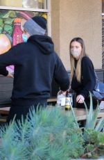CHLOE BENNET and Gregg Sulkin at Erewhon Market in Los Angeles 11/12/2020