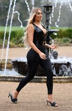 CHLOE FERRY on the Set of Celebs Go Dating in Sussex 11/23/2020