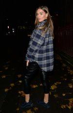 CHLOE ROSS Out for Dinner in London 11/03/2020
