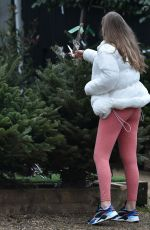 CHLOE ROSS Out Shopping at Chigwell Garden Centre 11/25/2020