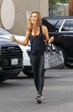 CHRISHELL STAUSE Arrives at DTWS Practice in Los Angeles 11/01/2020
