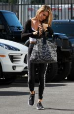 CHRISHELL STUASE at Dancing with the Stars Studio in Los Angeles 10/31/2020