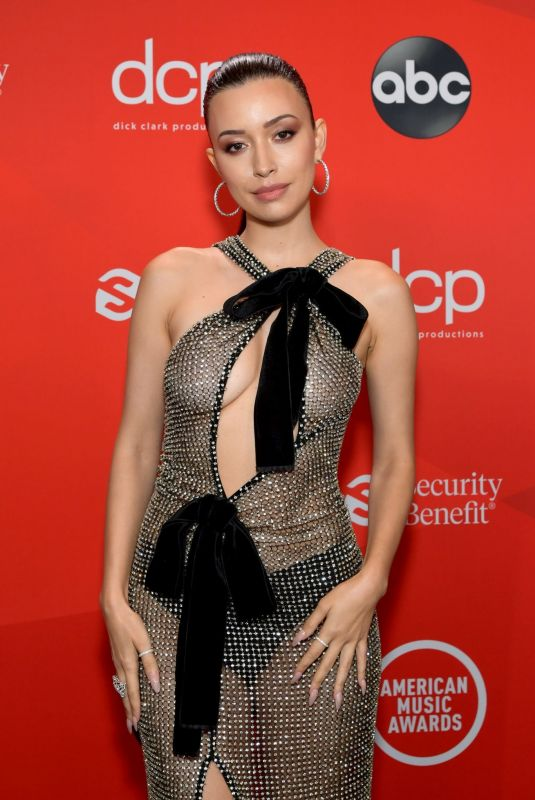 CHRISTIAN SERRATOS at American Music Awards 2020 in Los Angeles 11/22/2020