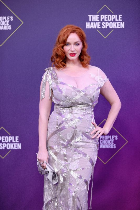 CHRISTINA HENDRICKS at 2020 People's Choice Awards in Santa Monica 11/15/2020