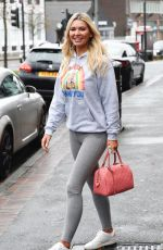 CHRISTINE MCGUINNESS Out in Wilmslow 11/20/2020