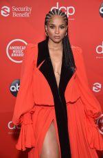 CIARA at American Music Awards 2020 in Los Angeles 11/22/2020