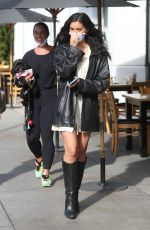 CINDY KIMBERLY at Toast Cafe in West Hollywood 11/18/2020