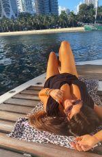 CLAUDIA ROMANI at a Yacht in Miami 11/15/2020
