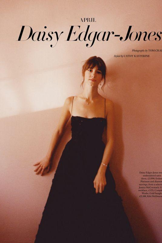 DAISY EDGAR-JONES in Harper's Bazaar Magazine, UK December 2020