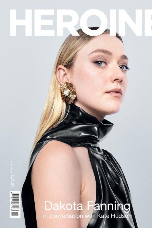 DAKOTA FANNING on the Cover of Heroine Magazine, Made of Light Issue, 2020