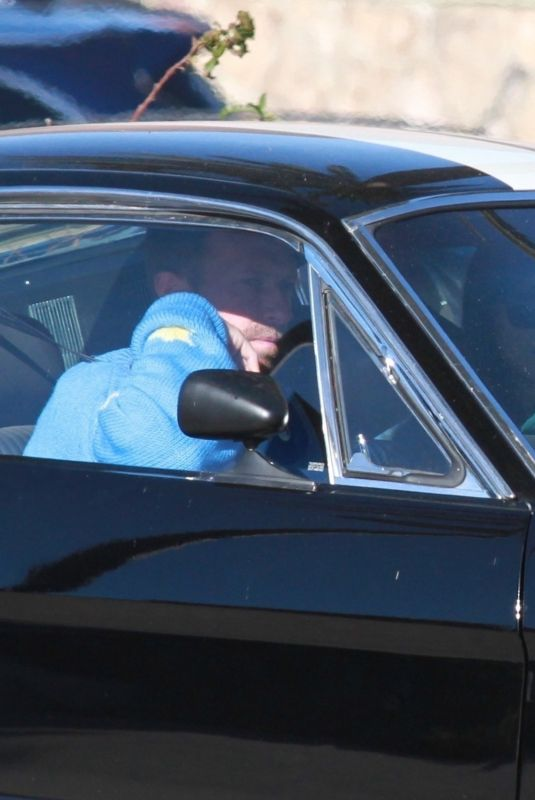 DAKOTA JOHNSON and Chris Martin Out Driving in Her Vintage Mustang in Malibu 11/27/2020