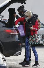 DENISE VAN OUTEN Out Shopping in Chelmsford 11/24/2020