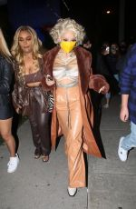 DOJA CAT Arrives at Prettylittlething Launch Dinner in West Hollywood 11/15/2020