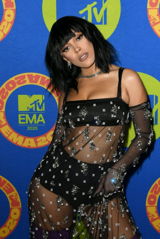 DOJA CAT at MTV European Music Awards 2020 in Los Angeles 11/08/2020