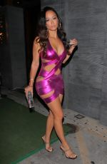 DRAYA MICHELE Celebrates Launch of Her New Jewelry Collection at Nobu in West Hollywood 11/17/2020