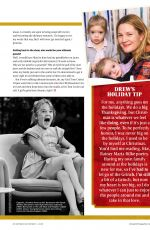 DREW BARRYMORE in Watch! Magazine, November 2020