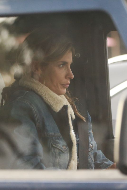 ELISABETTA CANALIS Out Driving in Her Land Rover Defender in Los Angeles 11/20/2020