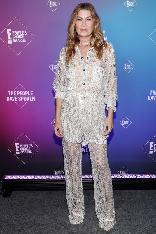 ELLEN POMPEO at 2020 People's Choice Awards in Santa Monica 11/15/2020