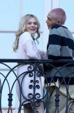 EMILY ALYN LIND on Set of Gossip Girl in New York 11/24/2020