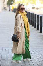 EMILY ATACK Leaves BBC Studios in London 11/07/2020
