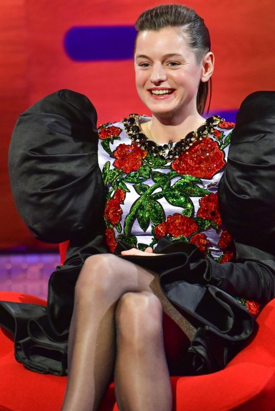 EMMA CORRIN at Graham Norton Show in London 11/05/2020