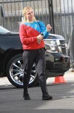EMMA SLATER Arrives at a Dance Studio in Los Angeles 11/20/2020