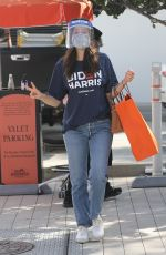 EMMY ROSSUM Out Shopping in Beverly Hills 11/02/2020