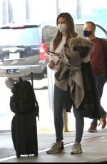 ERIN ANDREWS at Los Angeles Intenrational Airport 11/15/2020