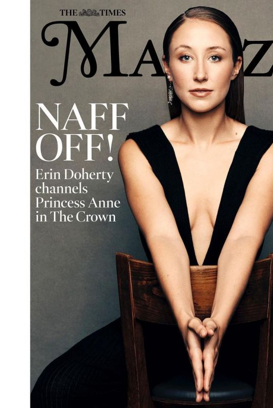 ERIN DOHERTY in The Times Magazine, 2020