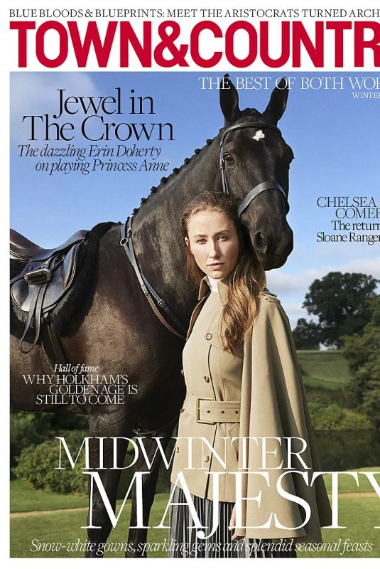 ERIN DOHERTY in Town and Country Magazine, Winter 2020