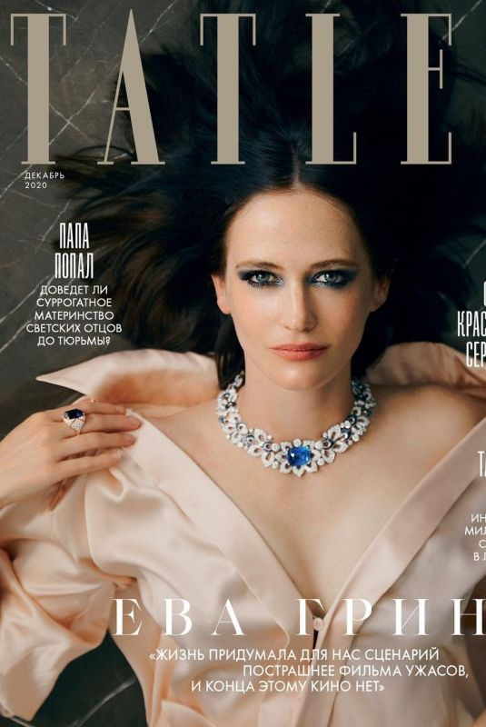 EVA GREEN in Tatler Magazine, Russia December 2020