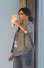 EVA LONGORIA on the Set of a New Movie in Los Angeles 11/22/2020