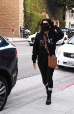 EVA LONGORIA Wearing a Mask Out in Los Angeles 11/23/2020