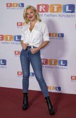 EVELYN BURDECKI at 25th RTL Spendenmarathon 11/19/2020