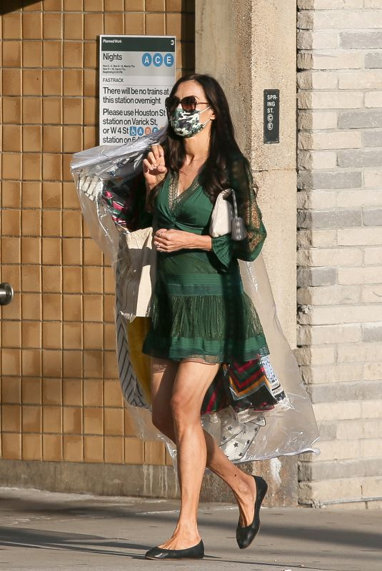 FAMKE JANSSEN Out and About in New York 11/05/2020