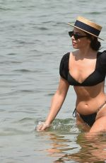 FRANCESCA ALLEN in Bikini on the Beach in Dubai 11/25/2020