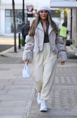 FRANKIE and DEMI SIMS Out in London 11/27/2020