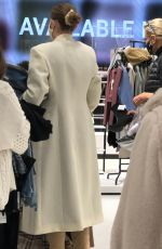 GIGI and YOLANDA HADID Shopping at Zara Store in King of Prussia in Pennsylvania 11/24/2020