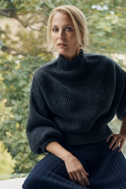 GILLIAN ANDERSON for Net-a-porter Magazine, Decembre 2020