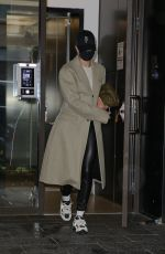 HAILEY BIEBER Leaves Her Apartment in New York 11/30/2020