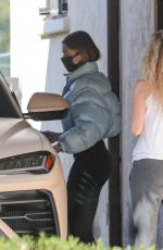 HAILEY BIEBER Leaves Private Pilates Class in Los Angeles 11/25/2020