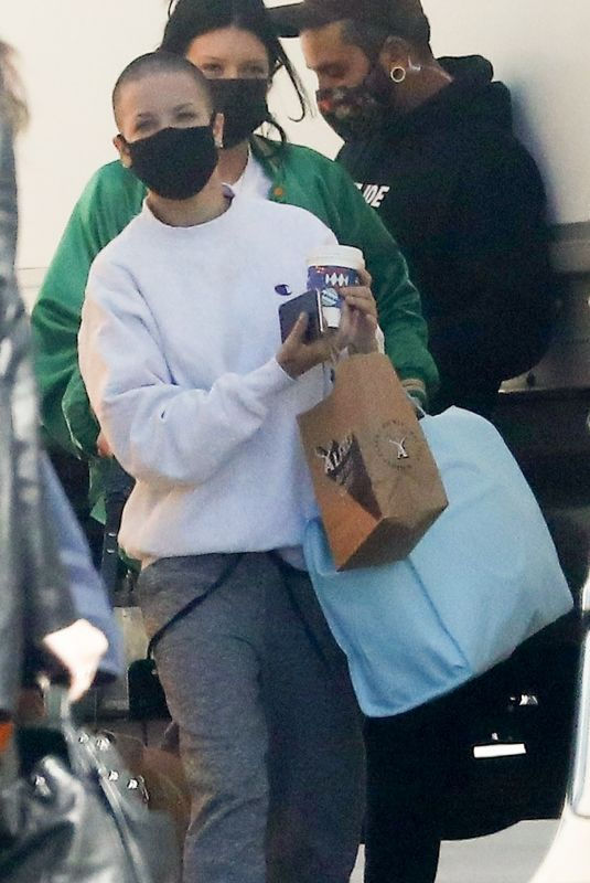 HALSEY Arrives at a Studio in Los Angeles 11/10/2020