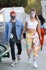 HANNAH STOCKING Out in Los Angeles 11/22/2020