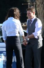 HAYLEY ATWELL and Tom Cruise on the Set of Mission Impossible 7 in Rome 11/21/2020