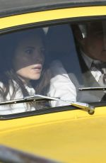 HAYLEY ATWELL and Tom Cruise on the Set of Mission Impossible 7 in Rome 11/25/2020